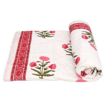 Tara-Textile - indische Decke - Sommerdecke Rangan