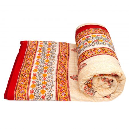 Tara-Textile - indische Decke - Kuscheldecke Savera