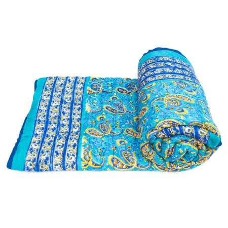 Tara-Textile - indische Decke - Kuscheldecke Sunil