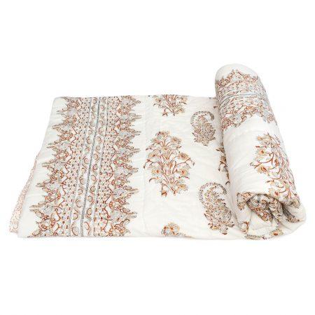 Tara-Textile - indische Decke - Leichte Decke Kirana