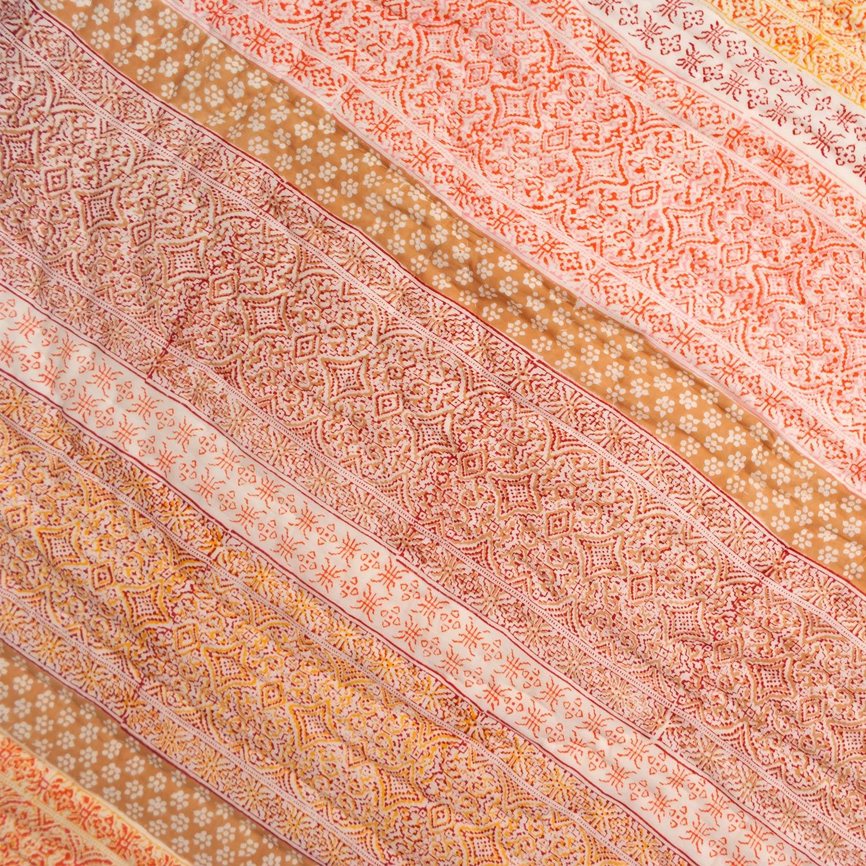 Tara-Textile - indische Decke - Kuscheldecke Sahana