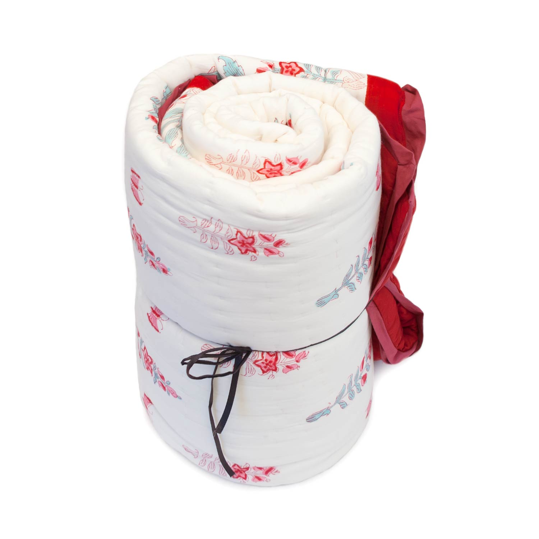 Tara-Textile - indische Decke - Kuscheldecke Madhu