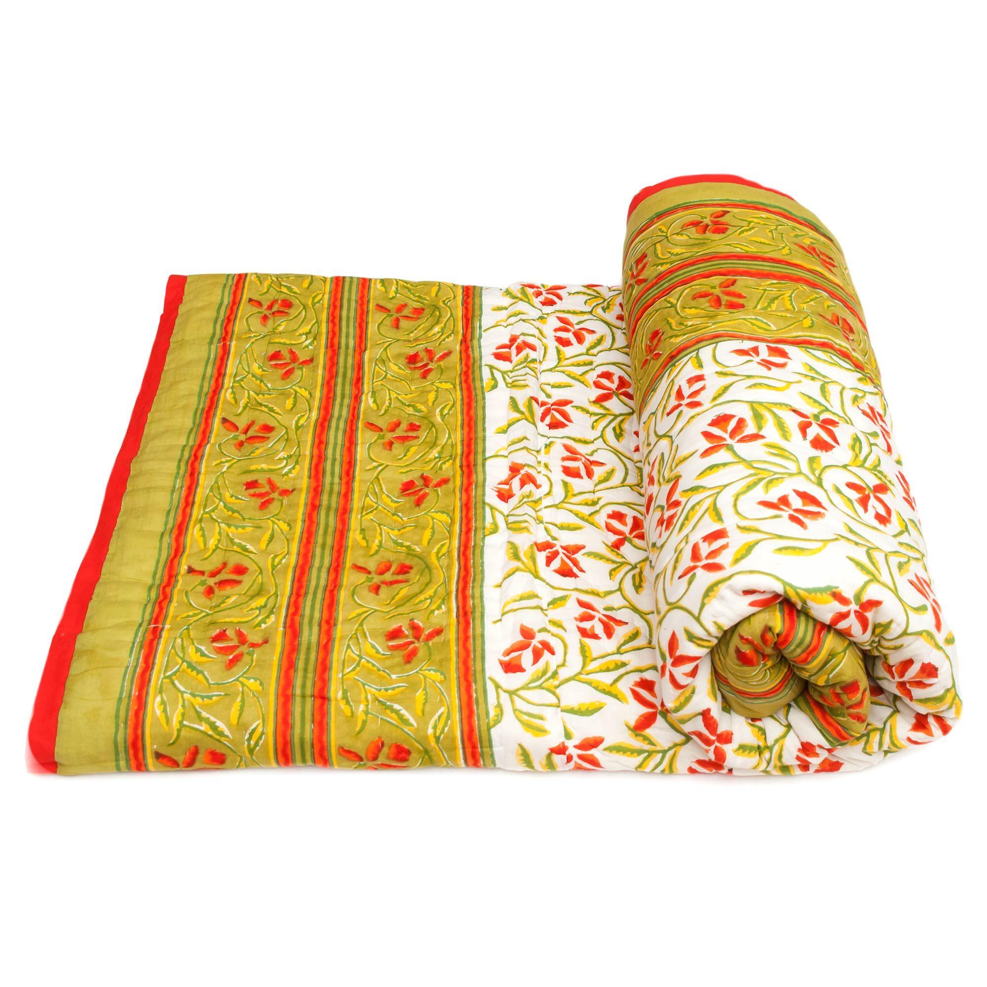 Tara-Textile - indische Decke - Leichte Decke Mana