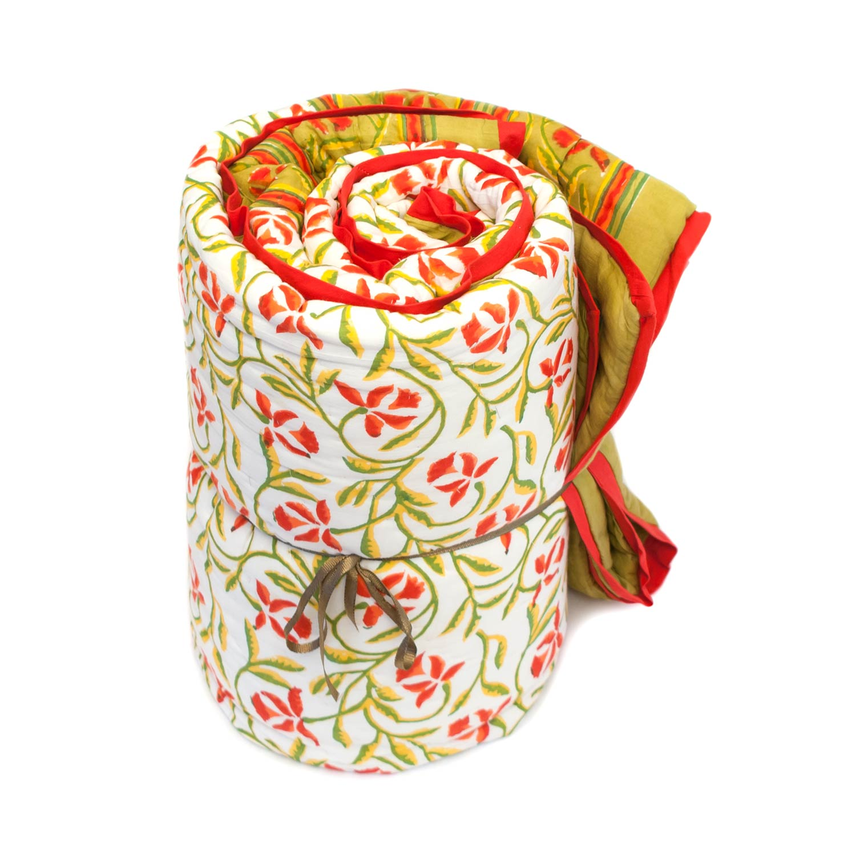 Tara-Textile - indische Decke - Sommerdecke Mana