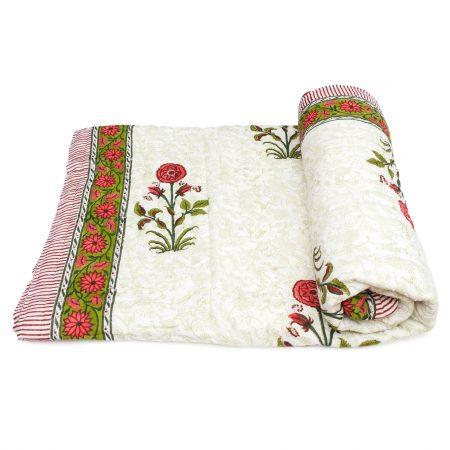 Tara-Textile - indische Decke - Sommerdecke Lali