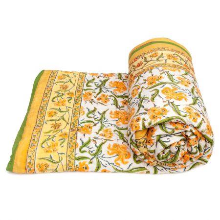 Tara-Textile - indische Decke - Kuscheldecke Ravi