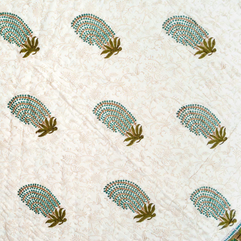 Tara-Textile - indische Decke - Sommerdecke Saloni