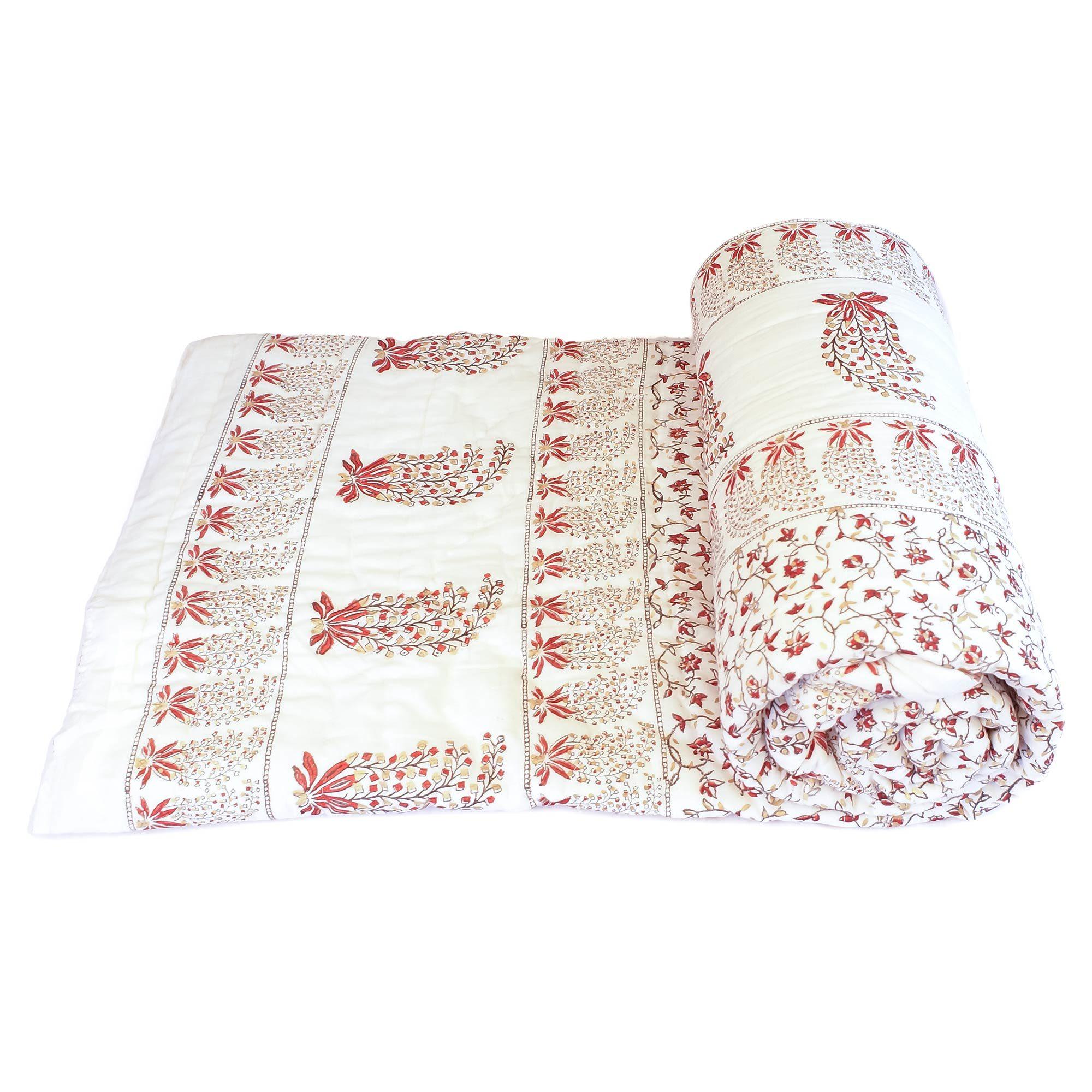 Tara-Textile - indische Decke - Leichte Decke Lalitya