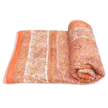 Tara-Textile - indische Decke - Kuscheldecke Kamuka