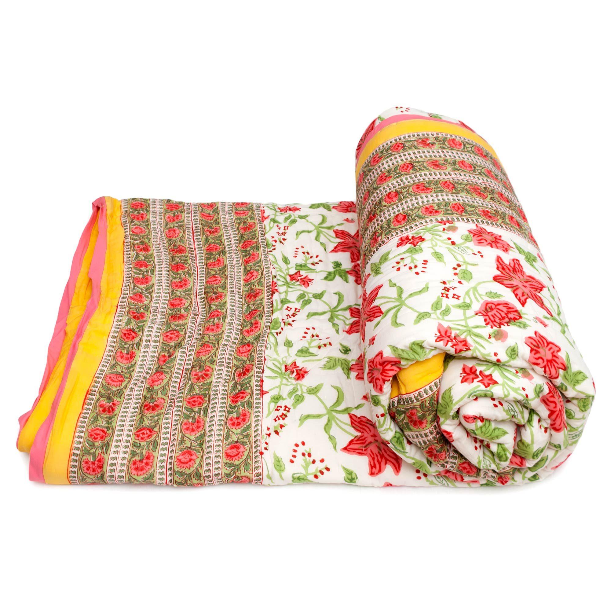 Tara-Textile - indische Decke - Kuscheldecke Jyoti