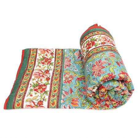 Tara-Textile - indische Decke - Kuscheldecke Benazir