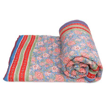 Tara-Textile - indische Decke - Kuscheldecke Manju