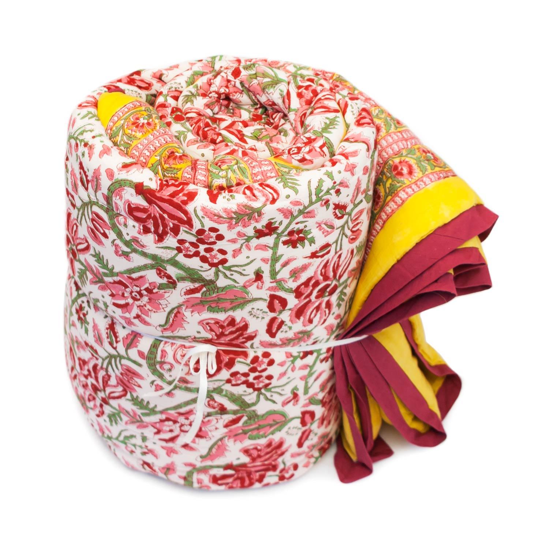 Tara-Textile - indische Decke - Kuscheldecke Kalinda