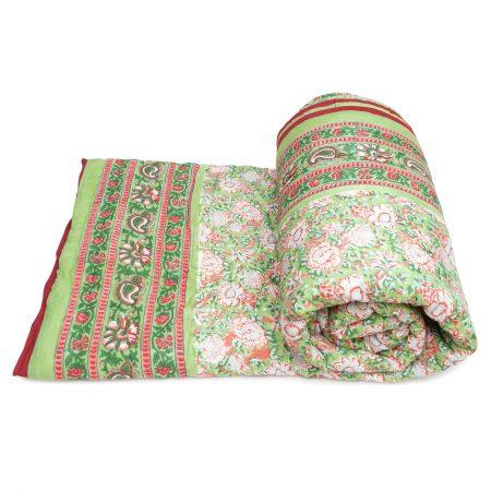 Tara-Textile - indische Decke - Kuscheldecke Najuk