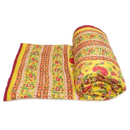 Tara-Textile - indische Decke - Kuscheldecke Raj