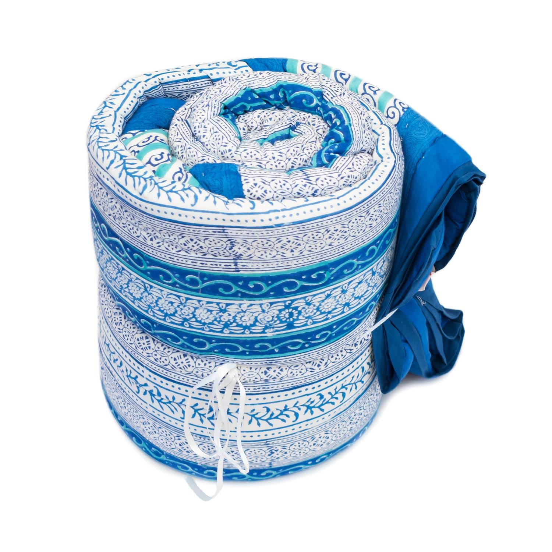 Tara-Textile - indische Decke - Kuscheldecke Nilam