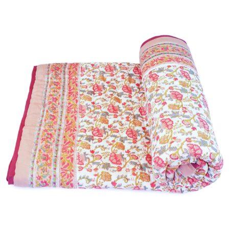 Tara-Textile - indische Decke - Kuscheldecke Lasala