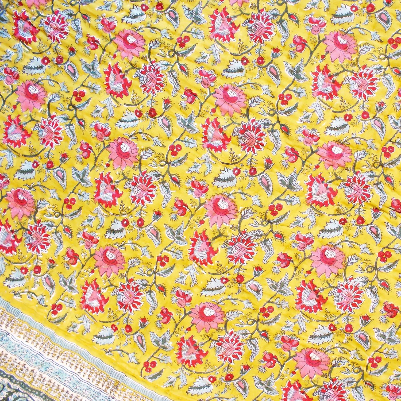 Tara-Textile - indische Decke - Kuscheldecke Nihar