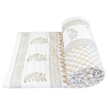 Tara-Textile - indische Decke - Leichte Decke Veda