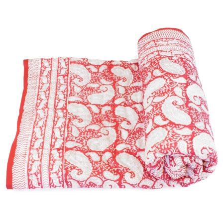 Tara-Textile - indische Decke - Kuscheldecke Janani