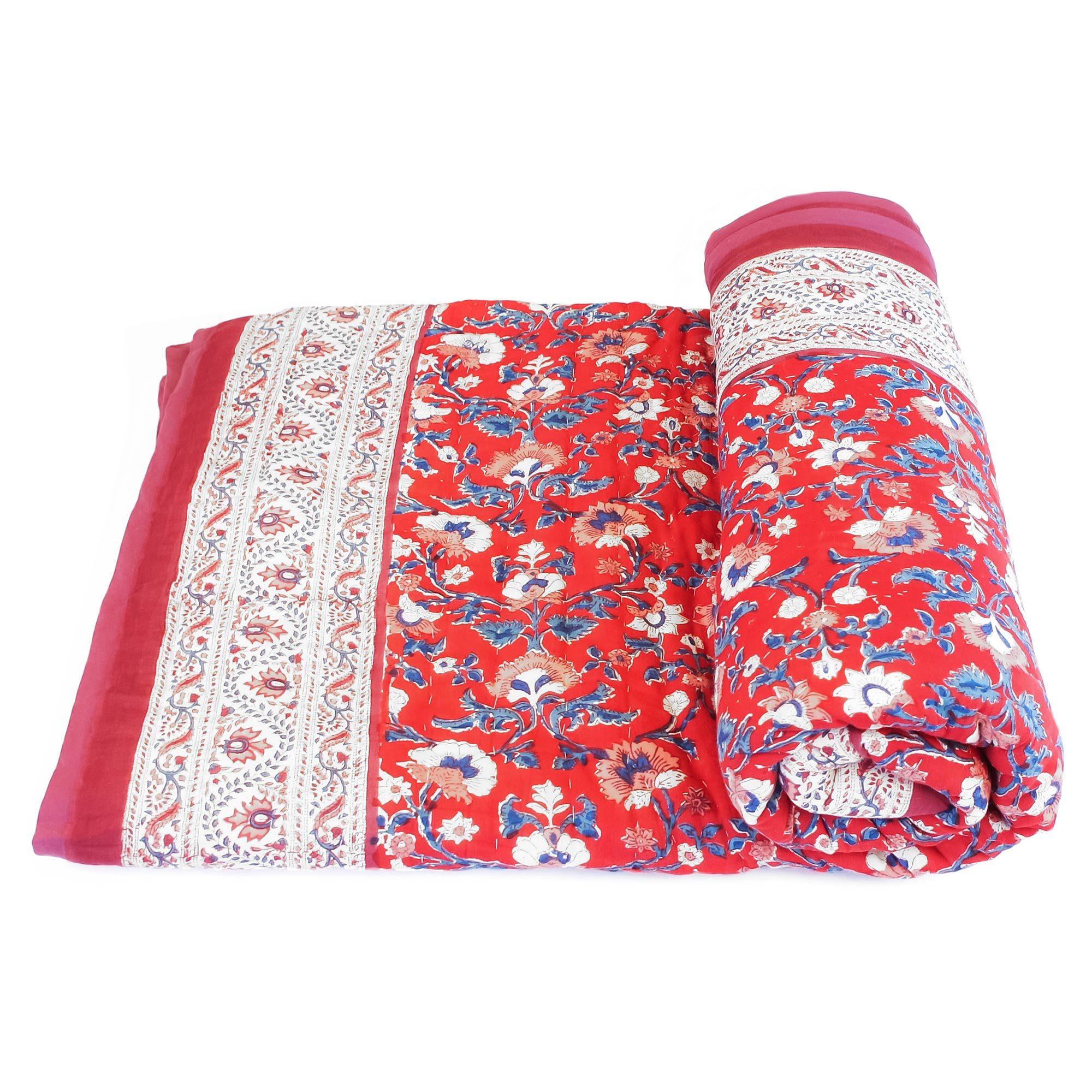 Tara-Textile - indische Decke - Kuscheldecke Rinara