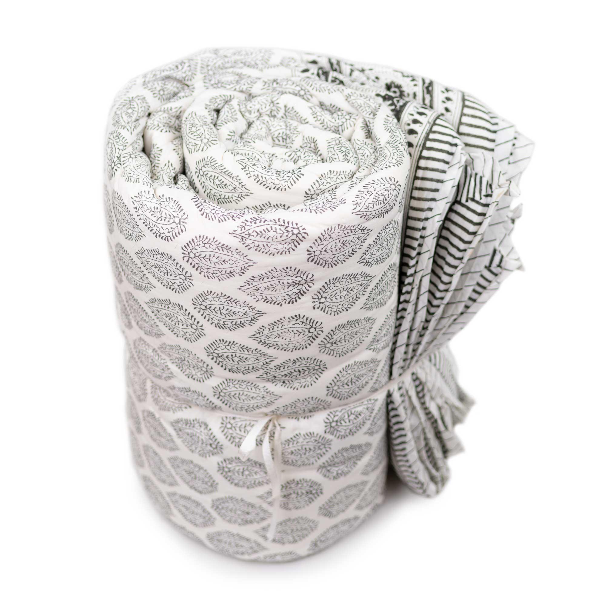 Tara-Textile - indische Decke - Leichte Decke Aleika
