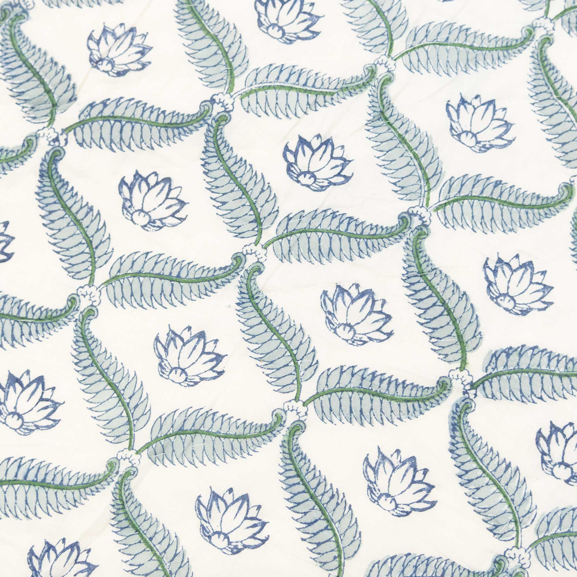 Tara-Textile - indische Decke - Leichte Decke Lotus