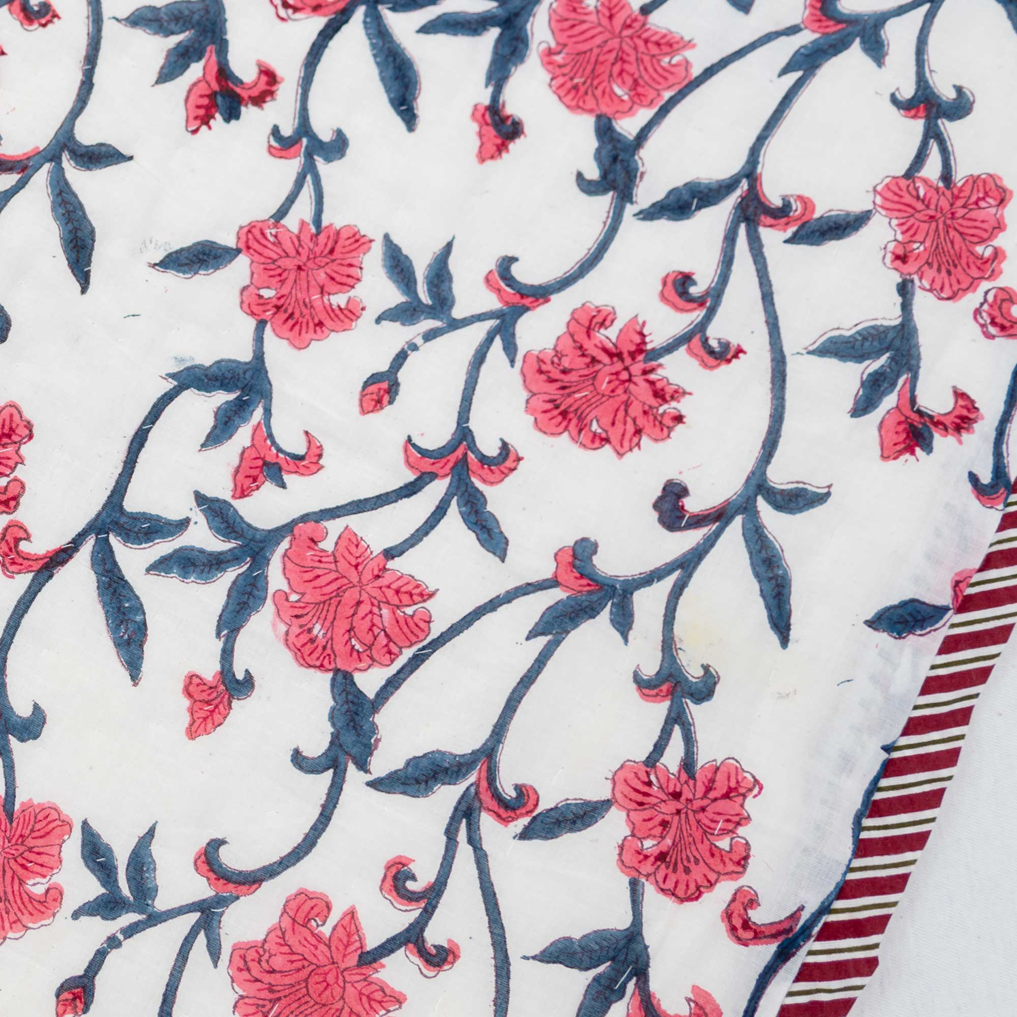 Tara-Textile - indische Decke - Leichte Decke Simran