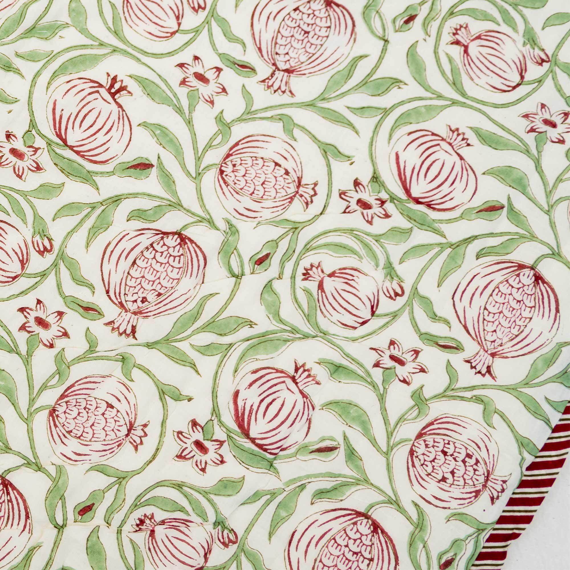 Tara-Textile - indische Decke - Leichte Decke Anar