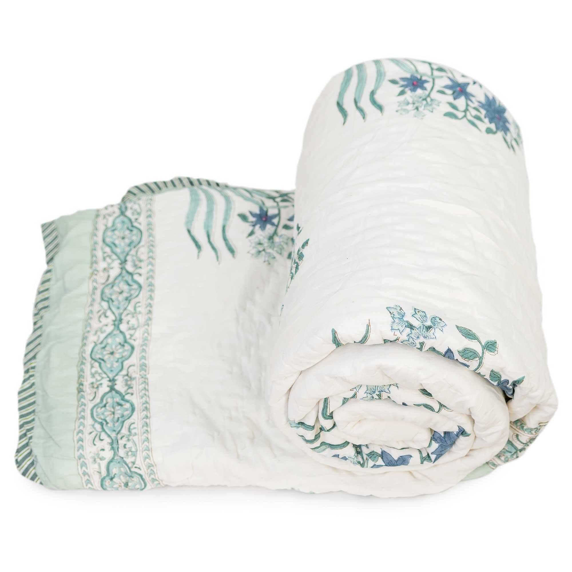 Tara-Textile - indische Decke - Leichte Decke Saira