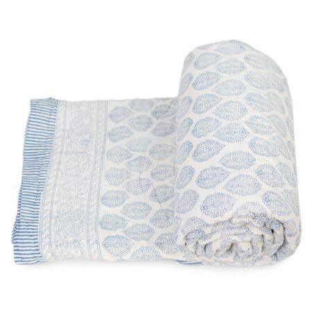 Tara-Textile - indische Decke - Leichte Decke Barisha
