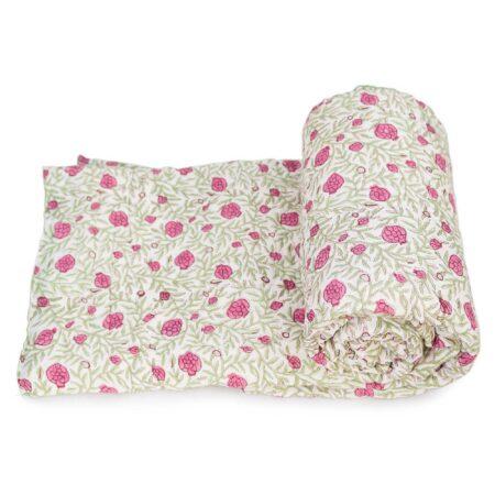 Tara-Textile - indische Decke - Leichte Decke Yuva