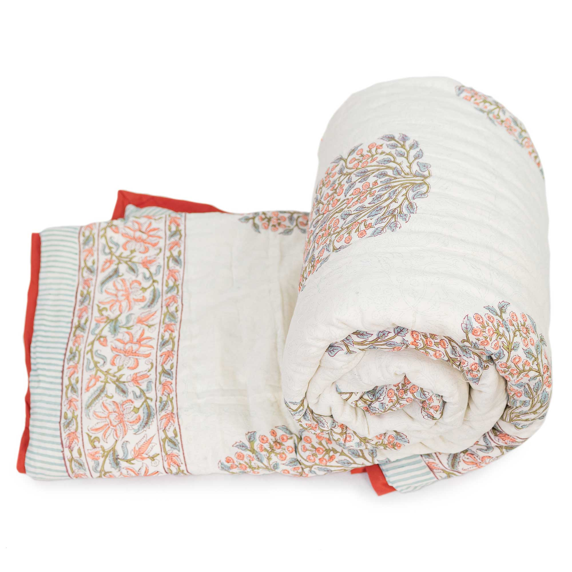 Tara-Textile - indische Decke - Kuscheldecke Priya